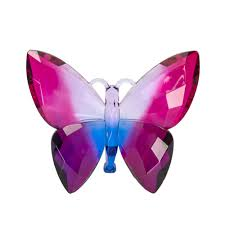 decorative butterfly purple fuschia burgundy home decor