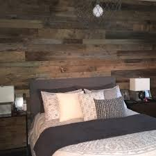 wooden wall bedroom kristy s master bedroom reclaimed wood accent wall fama creations