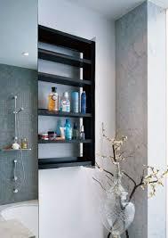 Creative Bathroom Storage by Creative Bathroom Storage Ideas Cool Grey Wood Grain Tiles Wall