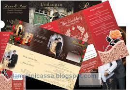 template undangan format cdr 12 template undangan pernikahan keren format coreldraw salamun picassa