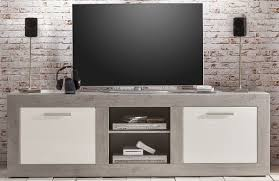 Buro Einrichtung Beton Holz Dreams4home Tv Lowboard
