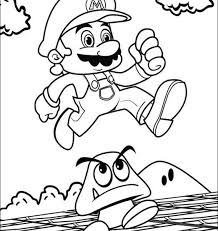 super mario coloring pages print super mario bros coloring