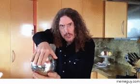 Magic Trick Meme - weird al performs a magic trick meme guy