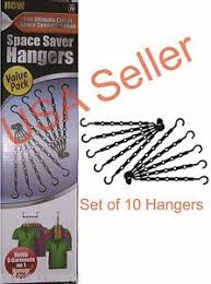 space saver hangers ebay
