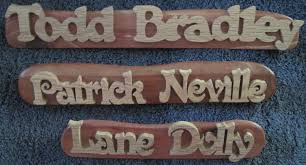 Desk Plates Desk Name Plates The Wood Butcher Shoppe