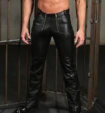 Cowhide Pants Leather Carpenter Pants For Men Ebay