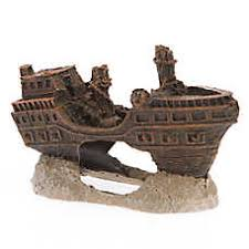 top fin pirate ship aquarium ornament josé aquarium