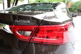 nissan maxima brake light switch 2016 nissan maxima sports sedan takes cues from u s navy u0027s blue