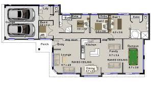 Narrow Lot 4 Bedroom House Plans House Plans 4 Bedroom Rumpus Homes Zone