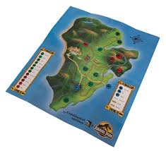 Jurassic Park Map Film Set Graphic Glories For Sale From Star Trek Control Panels
