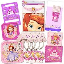 sofia the party supplies disney sofia the party supplies ultimate set