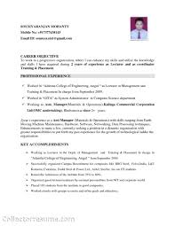resume career objective senior quality engineer sle resume qa qc useful materials for