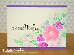 mothers day card handmade by michelle mother u0027s day cards