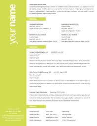 Nice Resumes 12 Great Creative Resume Jobs For Professional 2016