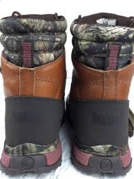 bushnell s x lander boots bushnell xlander mens 10 in insulated brown mossy oak camo hunt