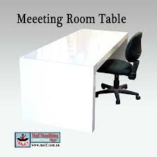 White Gloss Meeting Table Meeting Room Table Or Conference Table Or White Office Desk