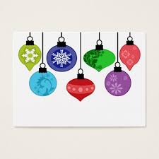 ornaments business card zazzle