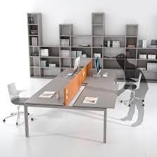 workstation desk metal laminate contemporary italo by