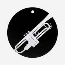 trumpet ornament cafepress