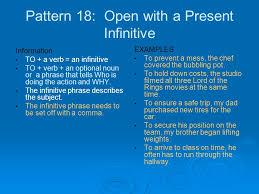 verb pattern prevent 24 sentence patterns ppt video online download