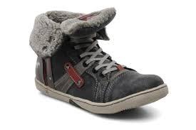 mustang shoes mustang shoes mukki grey trainers chez sarenza 97081