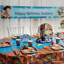 story party ideas story custom banner idea table decorating ideas story