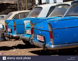 old peugeot old peugeot 404 taxi harar ethiopia stock photo royalty free