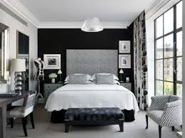 Modern Black White Bedroom Ideas And Awesome Glass Wood Design - Aubergine bedroom ideas