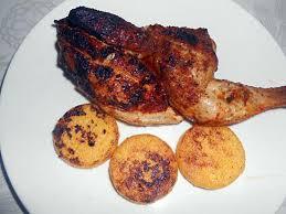 cuisiner le coquelet recette de coquelet grille aux epices et polenta