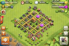 coc map layout th6 clash of clans tips town hall level 6 layouts