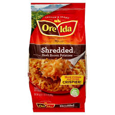 upc 492700100997 ore ida country style hash browns shredded