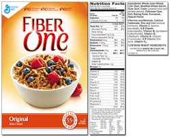 How Much Fiber In Cottage Cheese by Fiber One Product List