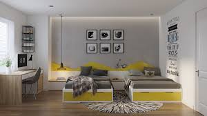 Gray And Yellow Bedroom Decor Grey Bedrooms Ideas To Rock A Great Grey Theme
