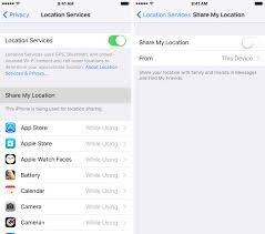enable location services android how to stop iphone from tracking your location