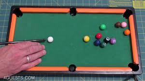 mini pool table miniature billiards youtube