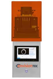 desktop 3d printers for professionals envisiontec