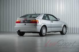 volkswagen coupe 1990 volkswagen corrado g60 coupe stock 1990160a for sale near