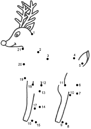 christmas coloring pages connect dots best images collections hd