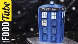 doctor who tardis cake cupcake jemma youtube