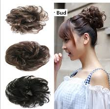hair puff new arrival hotsale free style hair curler wig puff bud elastic