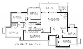 apartments home plans in law suite ideal ranch house plans inlaw