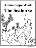 seahorse activities worksheets printables and lesson plans