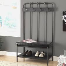 storage bench and coat rack set storage bench and coat rack set