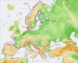 Barents Sea Map Blog De Sociales Abraham Jesús Fernández Physical Map Of The