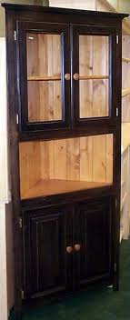 corner kitchen hutch furniture 90 best hutches images on corner hutch painted