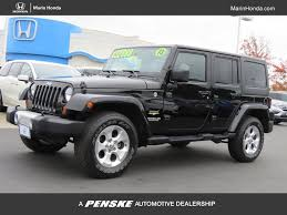jeep honda 2013 used jeep wrangler unlimited wrangler unlimi 4dr 4wd at marin