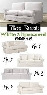White Slipcovered Sofa by I Have Been Sofa And Recliner Shopping In My Own Style