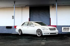 lexus ls custom lexus ls on iss forged s13 iss forged handcrafted for