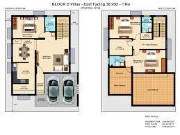east facing duplex house floor plans 40 x 50 house plans east facing 1 cozy design duplex for plots