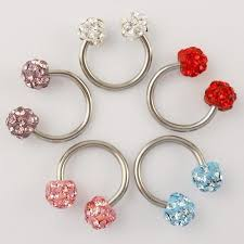 different types of earrings labret jewelry is smart thing to go for younger generation